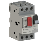 Автоматический выключатель защиты двигателя  АПД-03 In=6,3 A Ir=4-6,3 A