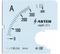 Шкала к амперметру AMP-771 300/5 А